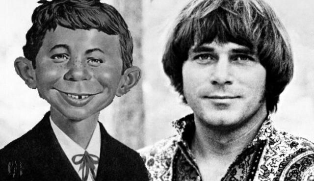 Joe South and Alfred E. Neuman seen from shoulders up looking vaguely like each other