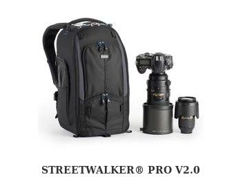 A high end camera bag called the Street Walker Pro.