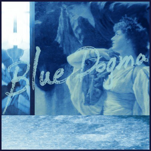 The cover of the Blue Dogma download EP from, at a guess, late 19th century painting of two women coloured blue